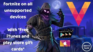 GET FREE REDEEM CODES! PLAY FORTNITE ON VORTEX CLOUD GAMING!🎮FREE GOOGLE PLAY GIFT CARDS💳