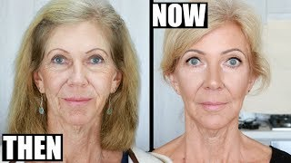I TAUGHT MY MUM TO DO MAKEUP! Ultimate Mature / Hooded Eyes Makeup Tutorial! Makeup Dos and Donts