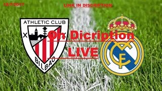 ath bilbao vs real madrid live match