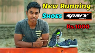 My new running shoes Sparx Rs.1000