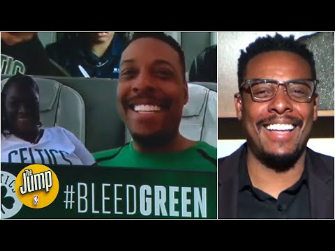 Whats it like to be a NBA virtual fan? Paul Pierce knows  The Jump