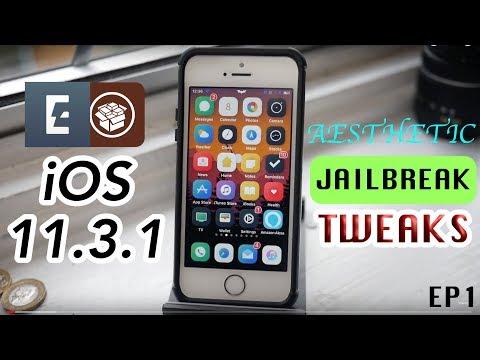 BEST AESTHETIC TWEAKS For Your New iOS 11.3.1 Jailbreak
