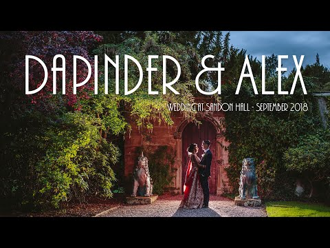 Wedding Photos at Sandon Hall, near Stafford in the Midlands: Dapinder + Alex