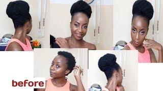 Kubana nywele fupi NZIGA STYLE(natura hair style NZIGA STYLE)