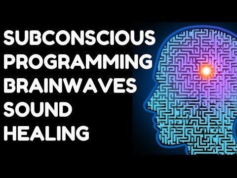 SUBCONSCIOUS PROGRAMMING BRAINWAVES FOR BRAIN HEALING & RECOVERY : VERY POWERFUL !