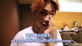 A missão do Jin de abraçar os membros do BTS