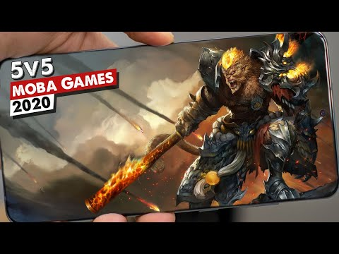 Top 10 Best 5v5 MOBA Games For Android | Best MOBA Games For Mobile