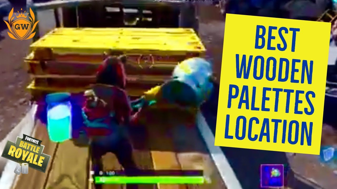 Destroy Wooden Palettes LOCATIONS WEEK 4 CHALLENGES ...