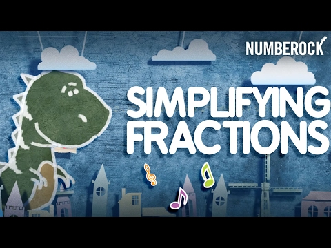 Simplest Form Song: Simplifying Fractions by NUMBEROCK