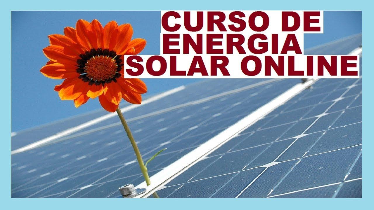 ENTRE AGORA PARA O MELHOR CURSO DE ENERGIA SOLAR FOTOVOLTAICA ONLINE DO BRASIL PARA INSTALADOR SOLAR