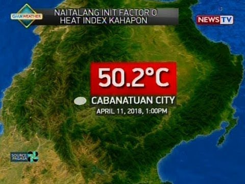 BT: Weather update as of 11:44 a.m. April 12, 2018