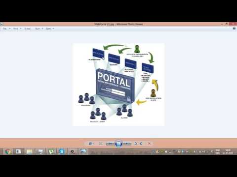 what is web portal
