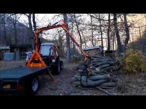 Agri Sav Caricatore Forestale P A S 300 Youtube