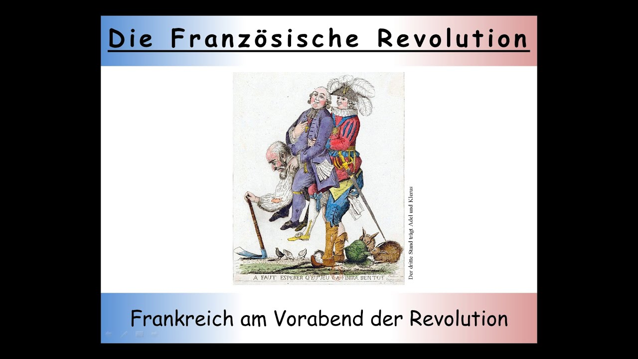 Französische Revolution Zusammenfassung Teil 1 Der Vorabend Der