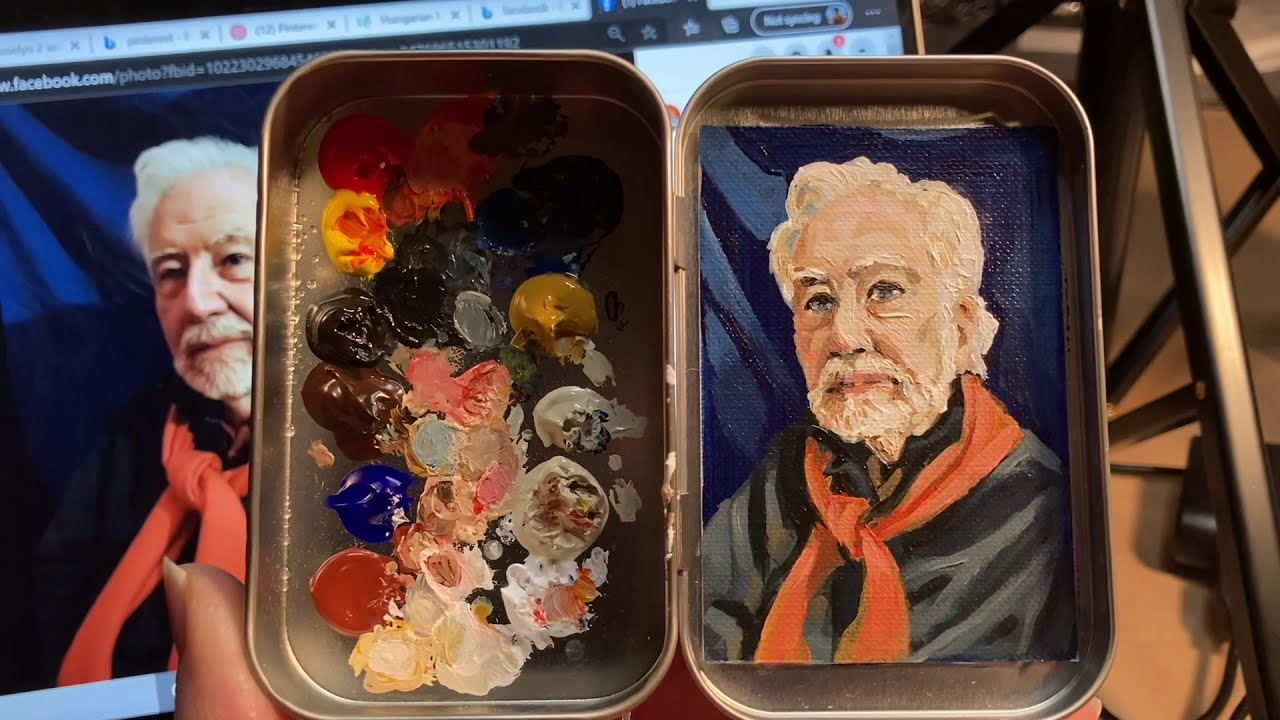 Why Tiny Tins Painting?