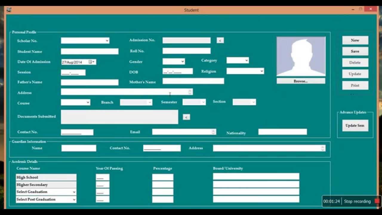 Technology Management Image: Hepto School Management System