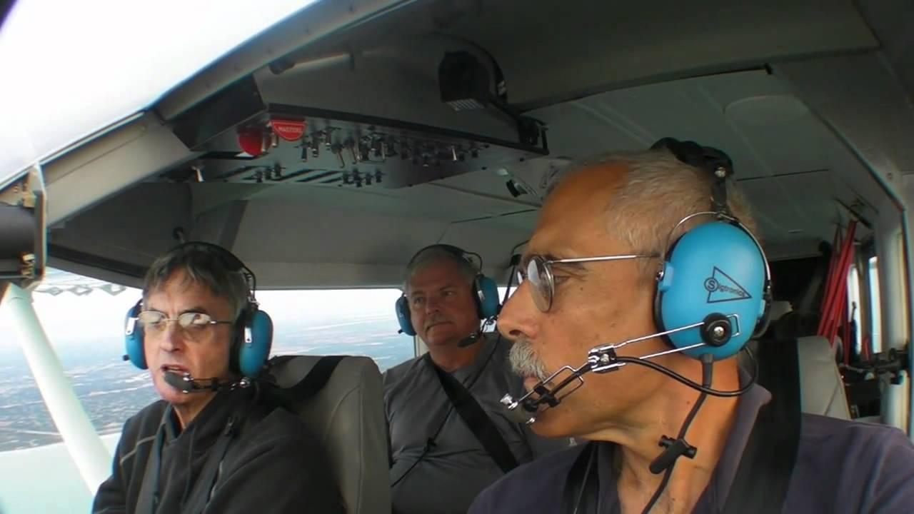 GA8 Airvan Flight Trial