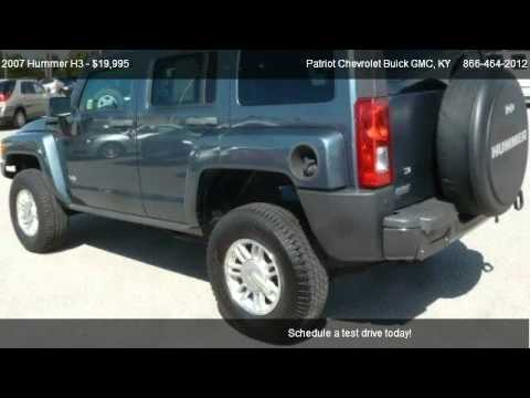 2007 Hummer H3 SUV   For Sale In Hopkinsville, KY 42240. Patriot Chevrolet