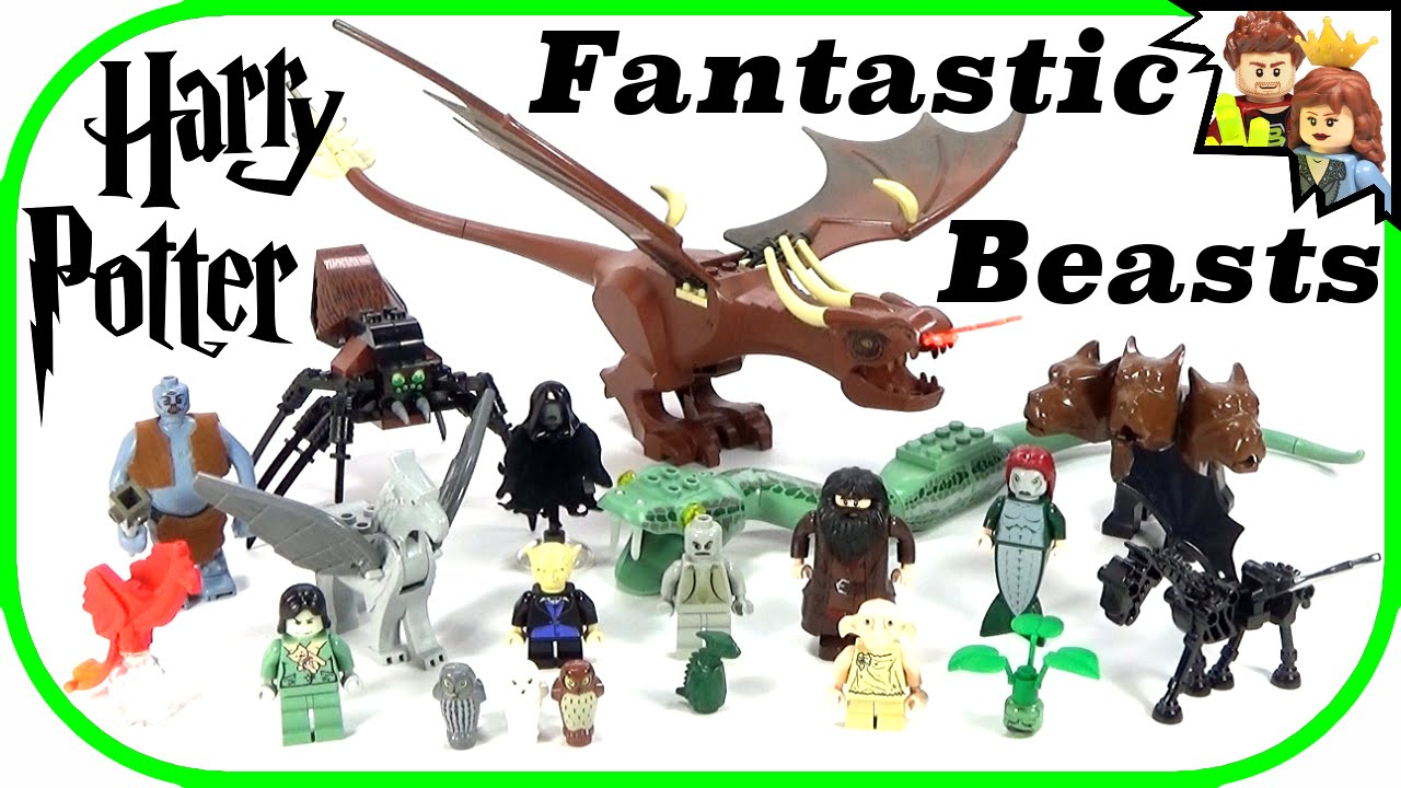 LEGO Harry Potter Fantastic Beasts Collection - YouTube