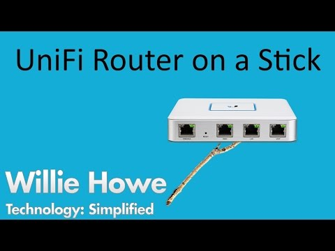 UniFi Router On A Stick!