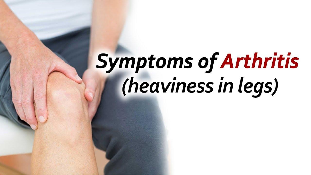 symptoms of arthritis in legs