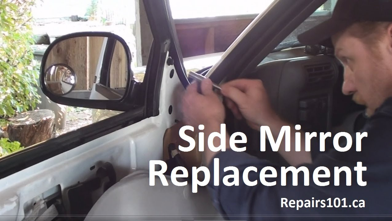 95 Isuzu Rodeo Window Wiring Diagram Auto Side Mirror Replacement Youtube