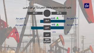 ارتفاع فاتورة المملكة النفطية 33% في أول شهرين للعام 2018 - (25-4-2018)