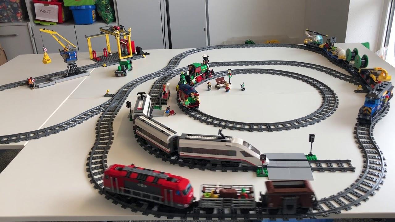 LEGO 1 Paar Schranken für Bahnübergang