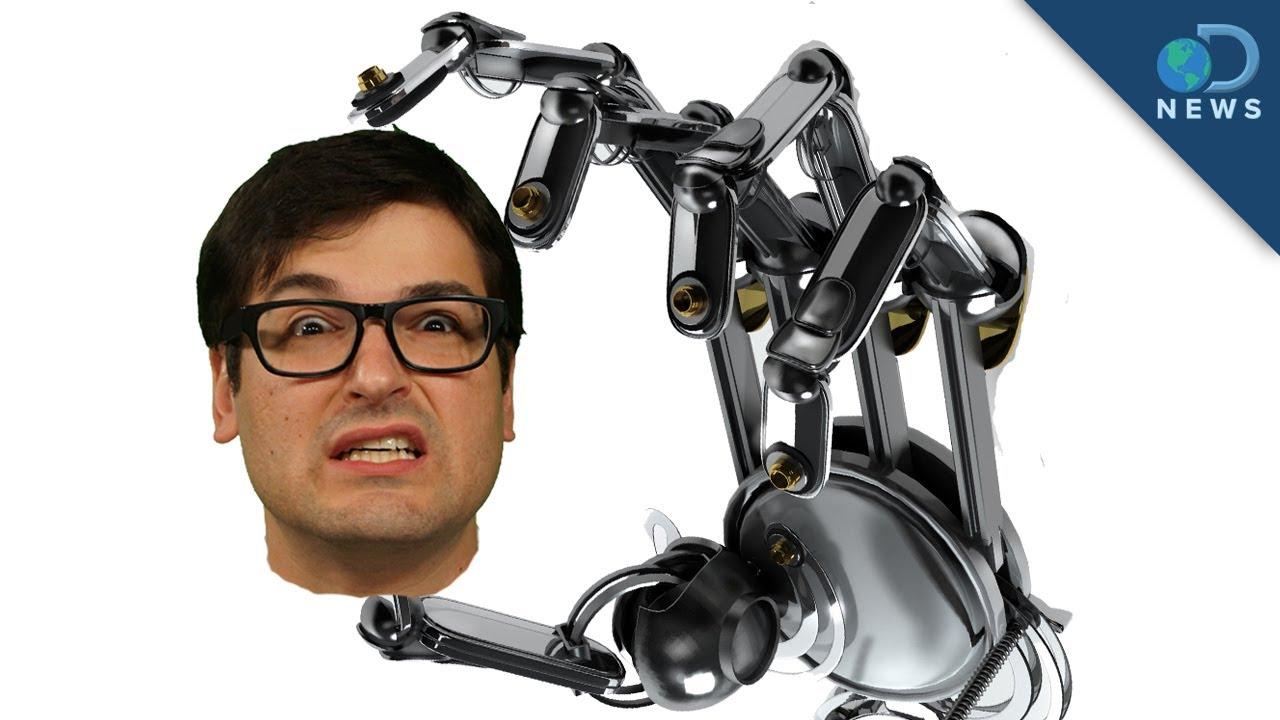 Human robotic arm implant