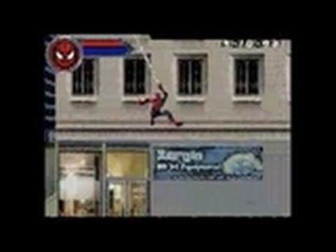 Spider Man 2 Nintendo DS Gameplay Swinging Through Town