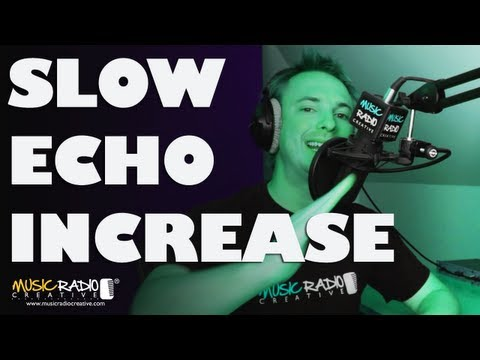 Adobe Audition CC Echo Effect (How To Increase Intensity)