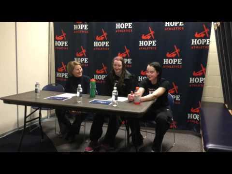 Carnegie Mellon Women's Basketball Post Game Interview vs. Ohio Northern