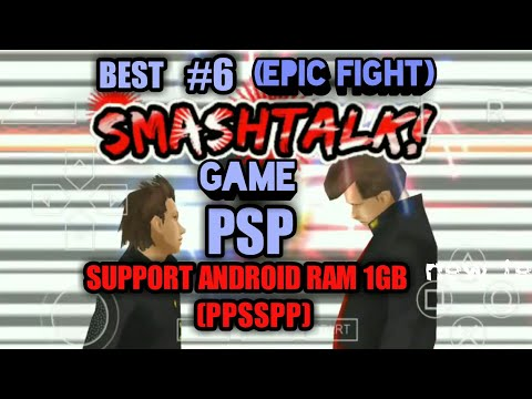 BEST 6 PSP GAMES Lancar Di Android RAM 1GB(ppsspp Emulator) Part#1