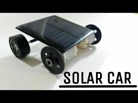 How to make a solar panel car go faster