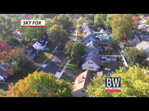 Flying over Morrisville Pa Where i live