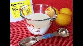 Buttermilk from Scratch - Awesome Tip! - Tips & Tricks #23