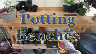 Diy Potting Bench For Your Greenhouse