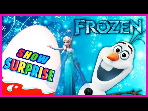 Видео: Surprise Show Kinder Surprise - Frozen. Холодное сердце - новый мультик Киндер сюрприз