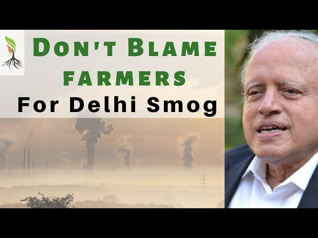 #DelhiSmog - Set up #Rice #BioParks to reduce Stubble burning