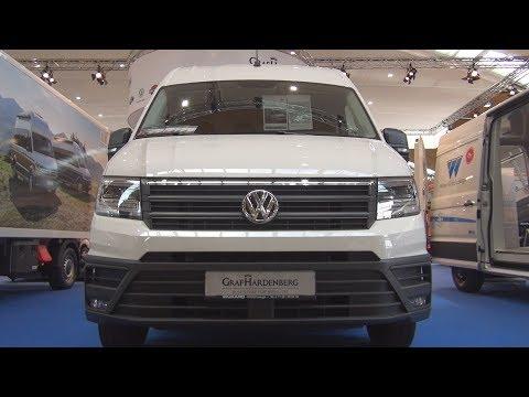 Volkswagen Crafter Refrigerated Panel Van (2020) Exterior and Interior
