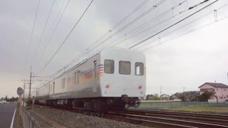 【予備電源車 カヤ27-501】 EF81 80牽引でE26系始動!! 20160418
