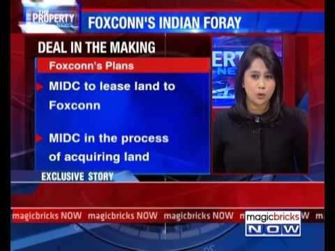 Big bets: Foxconn eyes for land in Khalapur-Karjat - The Property News