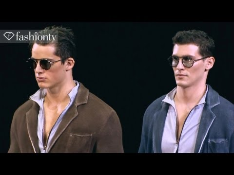 Giorgio Armani Men Spring/Summer 2013 FULL SHOW | Milan Men's Fashion Week | FashionTV FMEN