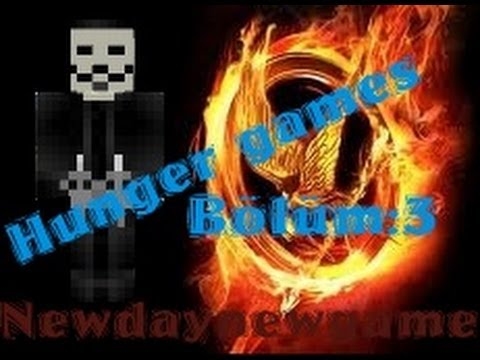 Minecraft-Hunger Games(Açlık Oyunları) Enes Oynuyor Bölüm 3