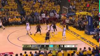 J R  Smith's First half  Cavaliers vs Warriors  Game 5  June 14, 2015  2015 NBA Finals