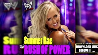 "WWE: ""Rush Of Power"" (Summer Rae) Theme Song + AE (Arena Effec…"
