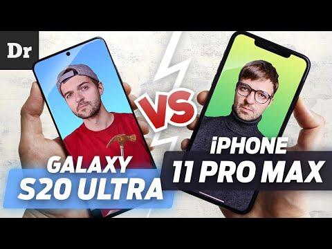 Galaxy S20 Ultra Vs IPhone 11Pro: Что выбрать?