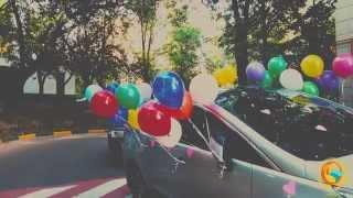 видео Украшение шариками