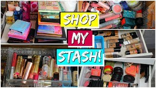 Shop My Stash From Scratch! March 2019 (Everyday Makeup Drawer)