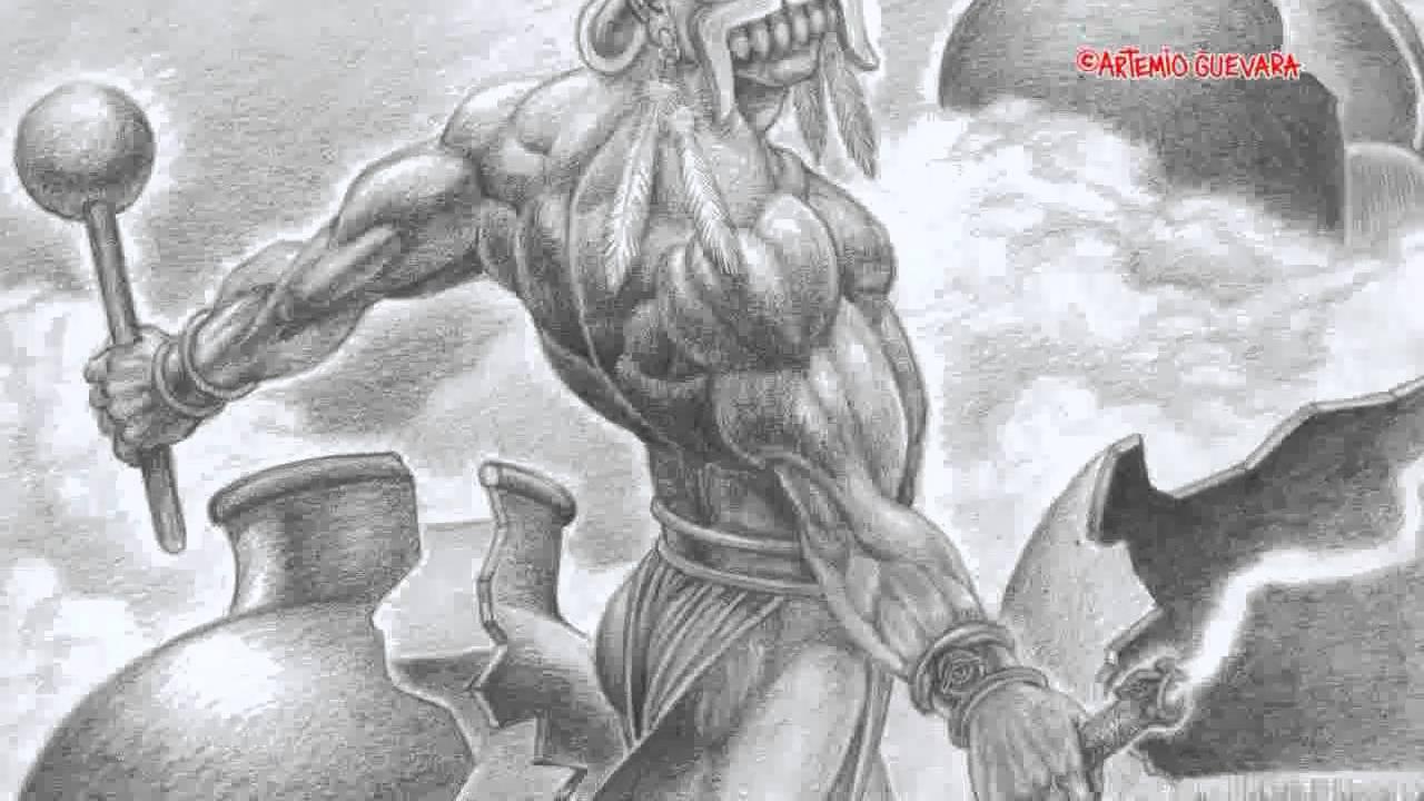 Tlalok Dios Azteca De La Lluvia El Arte Fantástico De Artemiogevara